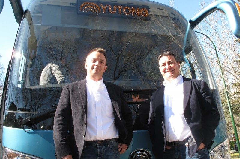 presentación nuevo autocar yutong